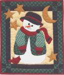Rachel's of Greenfield Snowman Quilt Kit